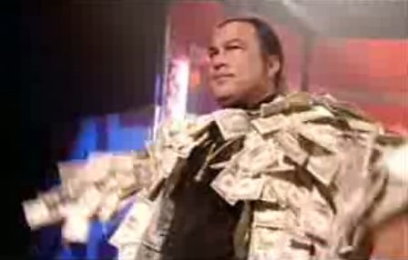 "STEVEN SEAGAL - ""COAT OF CASH"""